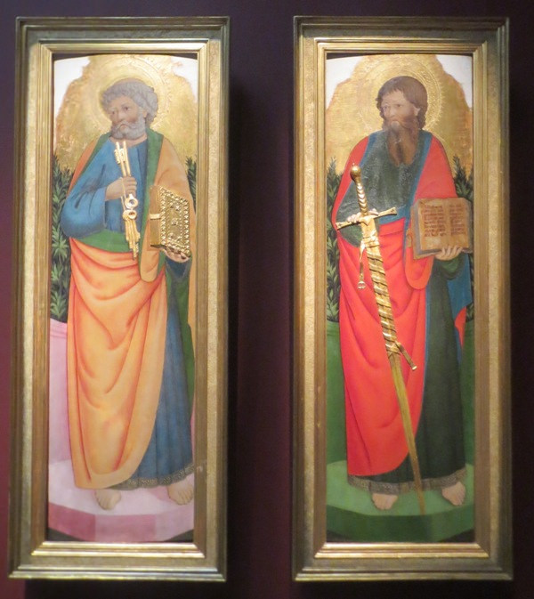 Маэстро деи Картеллини. Святой Павел и Святой Петр
