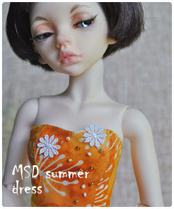 MSD summer dress