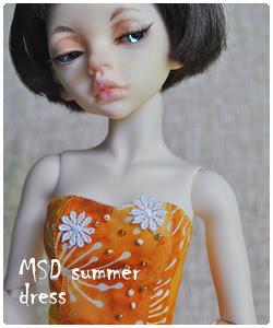 MSD summer dress