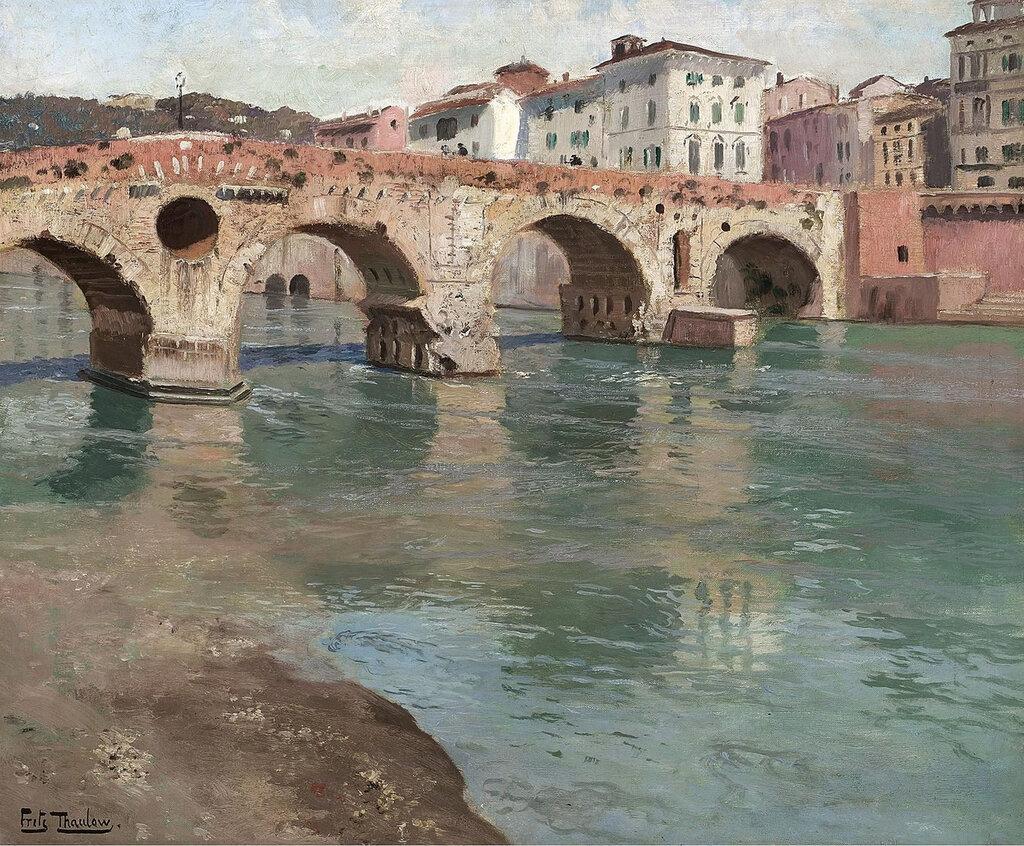 Frits Thaulow - Ponte Pietra, Verona.jpeg