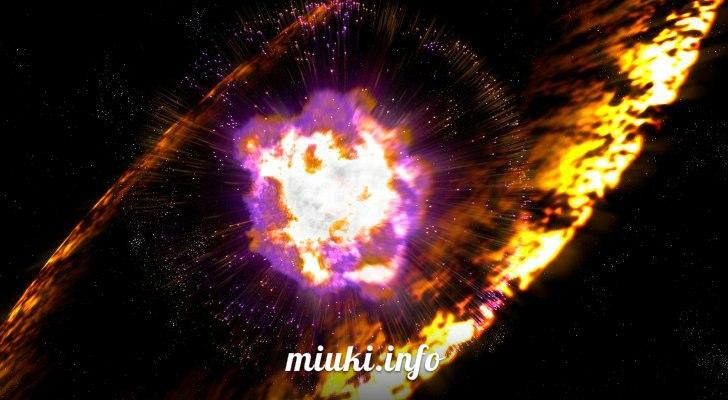 Японские астрономы создали первую трехмерную модель взрыва сверхновой звезды