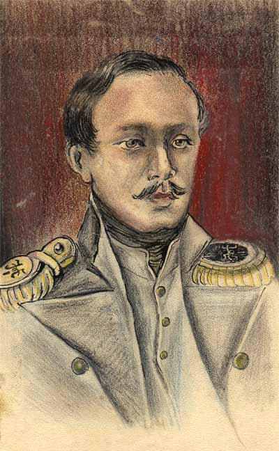 + ЮлийГомбарг. Портрет М.Ю.Лермонтова. 1940–1941.jpg