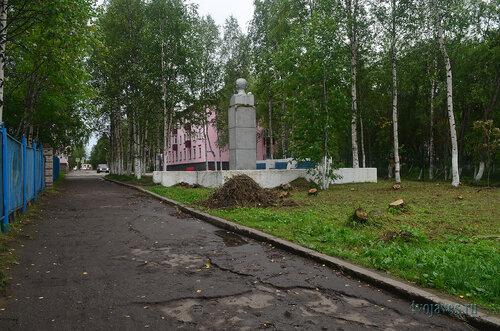 Фото города Инта №7159  Забор Чайковского 8, Мира 1 24.08.2014_12:50