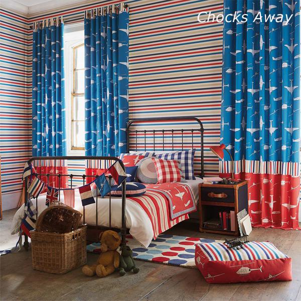Ткани для детской комнаты