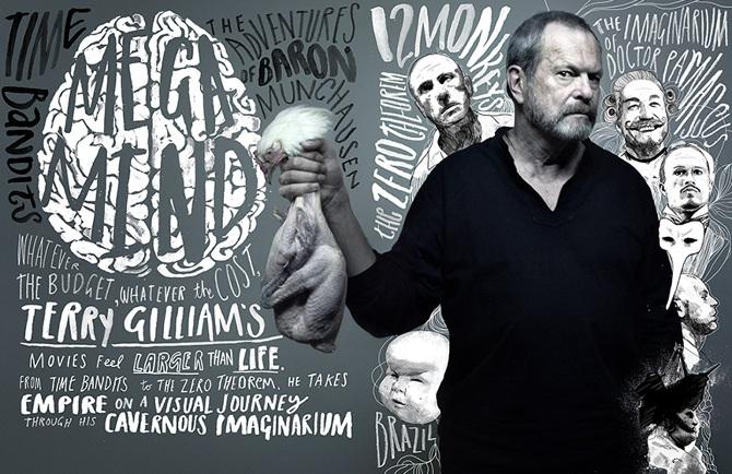 Графика и кинопостеры Питера Стрейна / Peter Strain