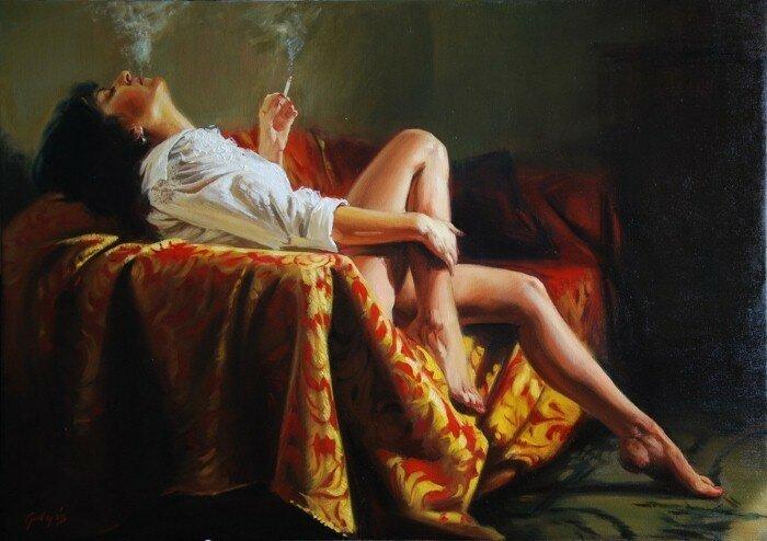 Картины художника Laszlo Gulyas (Венгрия)
