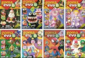 Журнал Журнал Goma eva 3D 1-9 2013 Ediciones Tercer Milenio
