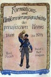 Книга Formations- und Uniformierungsgeschichte des Preußischen Heeres 1808 bis 1914. Band I
