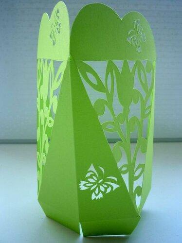 Подарочная коробка Цветок в сердце