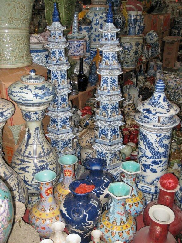 Вазы, рынок Паньцзяюань, Пекин