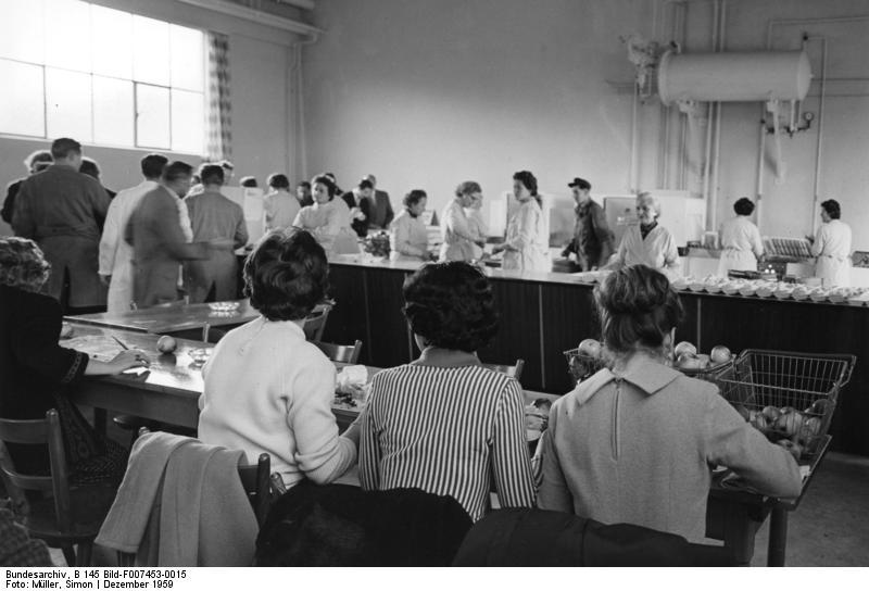 Nьrnberg, Grundig-Werk, Kantine