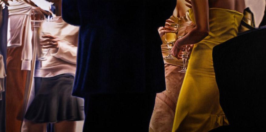 работы художника Дэмиэна Лёба / Damian Loeb - Metropolitain (2004)