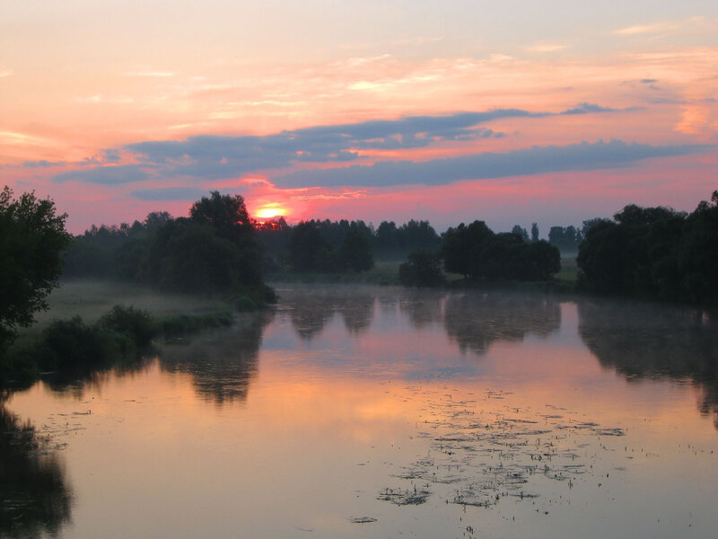 Река рассветная