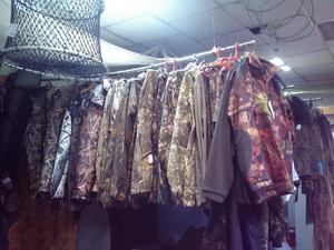 одежда дляохоты и рыбалки