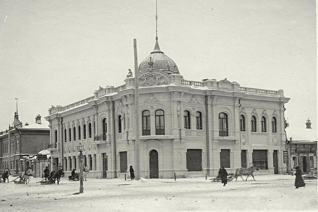Фрагмент перекрестка улицы Гостиной и Покровского переулка с домом мещанина М.М. Зельмановича