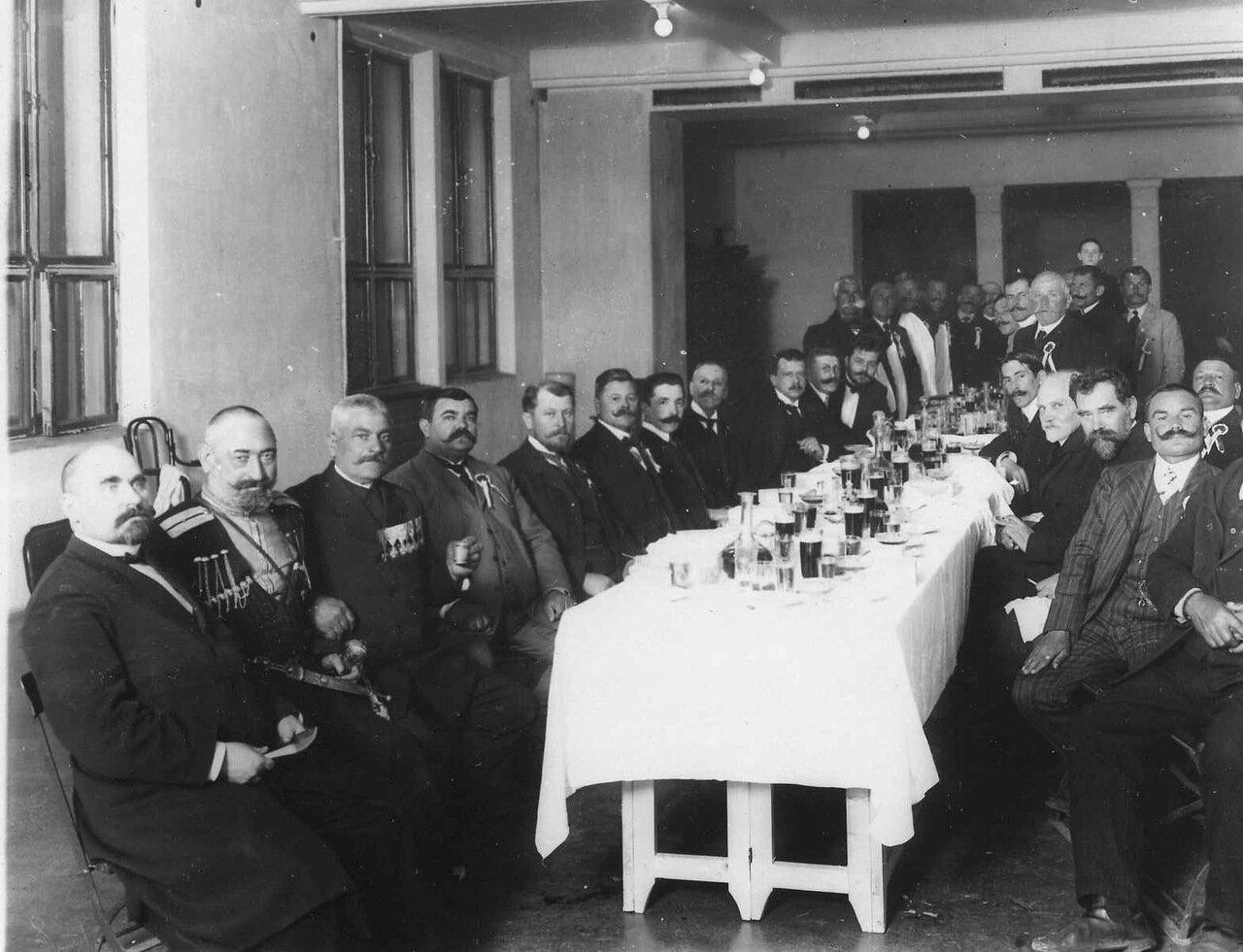 22. Обед в болгарском посольстве в честь приезда в Россию болгарской делегации. 1913