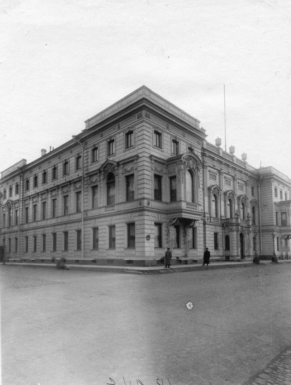 Посольство Турции (Дворцовая наб., 8). 01. Здание посольства. 1911