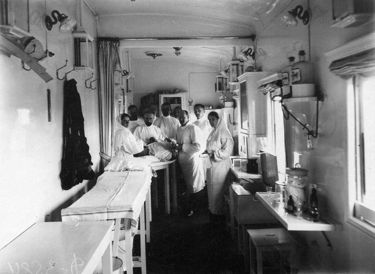 05. Операционная санитарного поезда