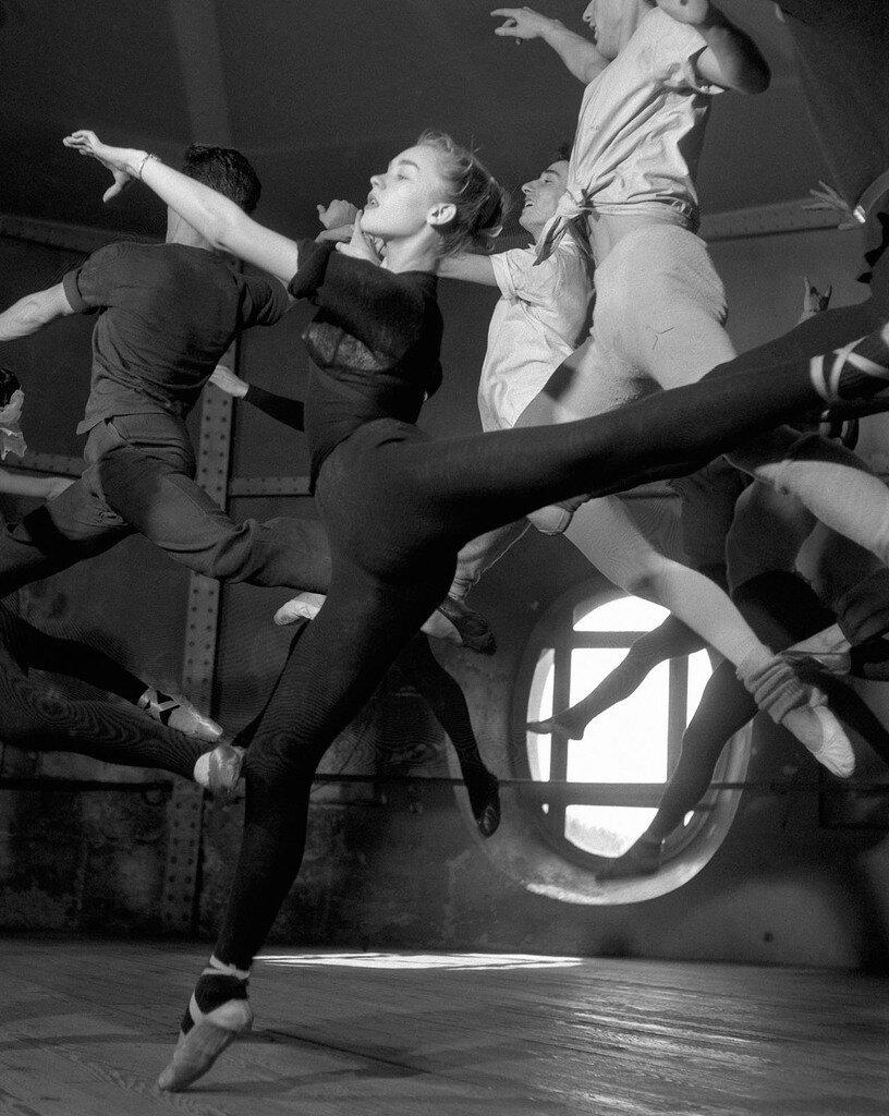 1950. В школе танца