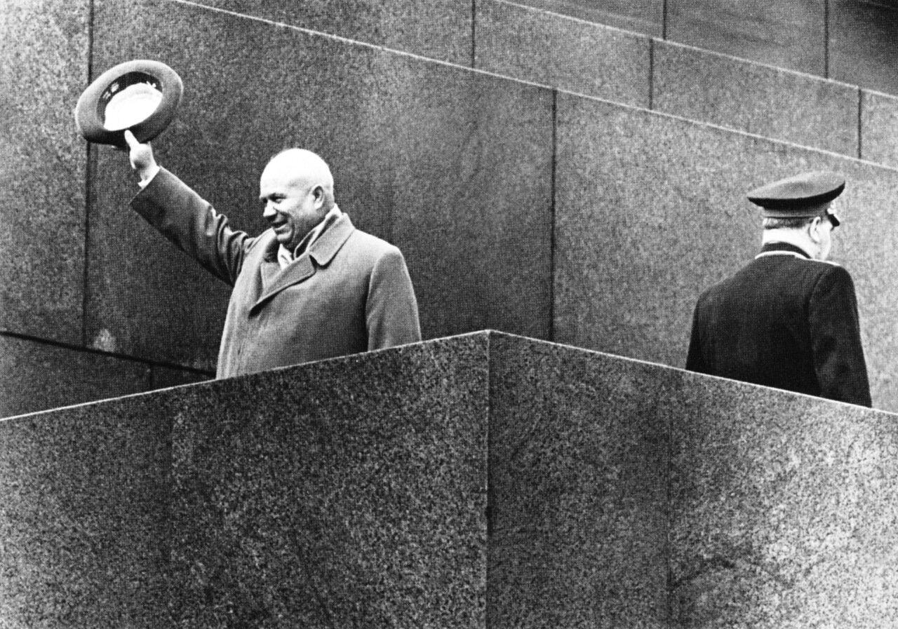 1964. В последний раз на трибуне Мавзолея. 1 мая