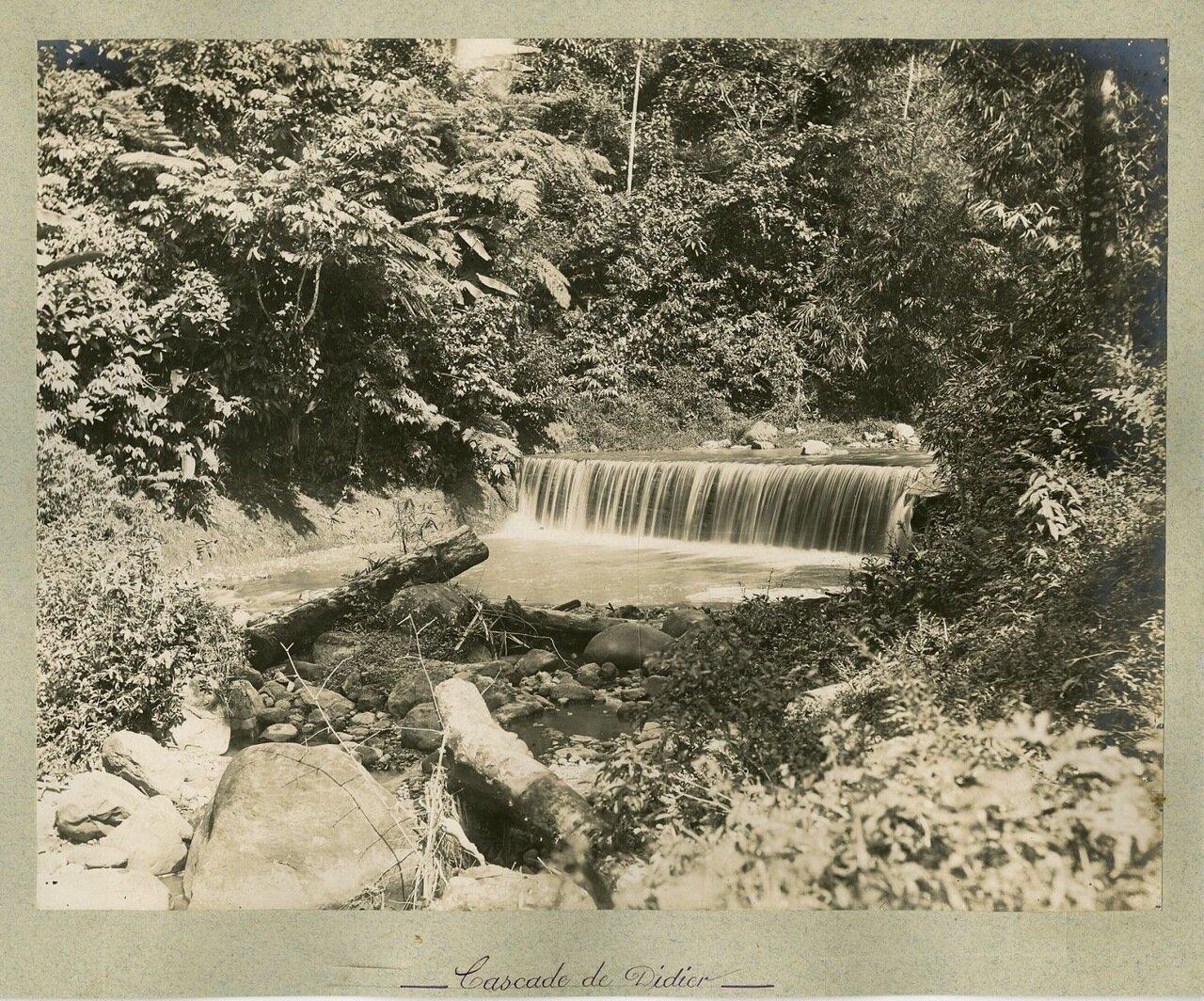 Каскад водопадов Дидье