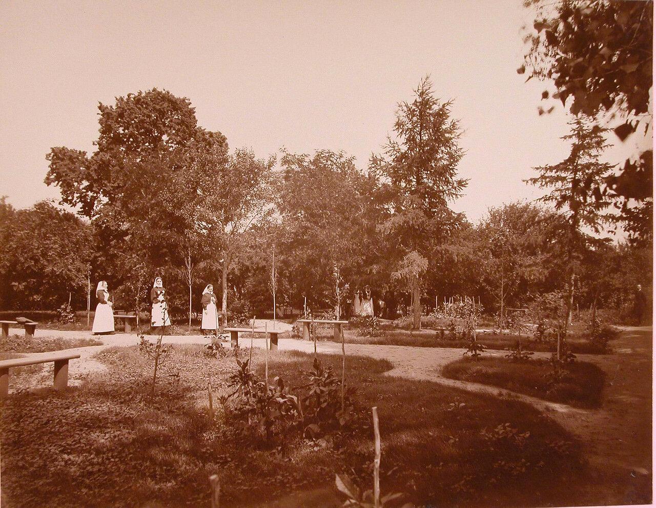 05. Сестры милосердия в саду Николаевской общины