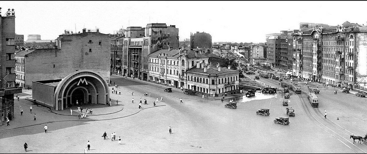 1930-е. Площадь Красных ворот