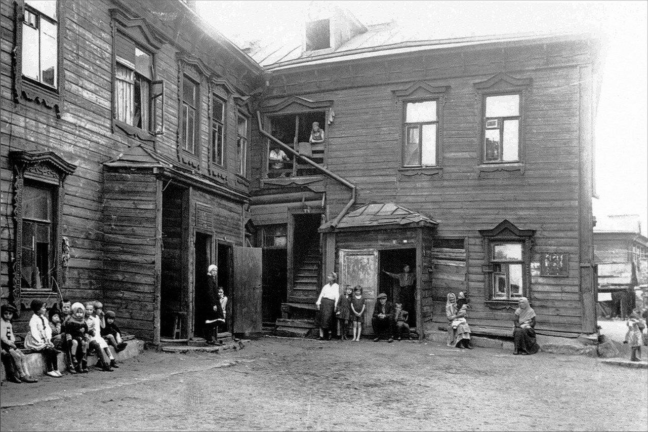 1930-е. Рабочая улица