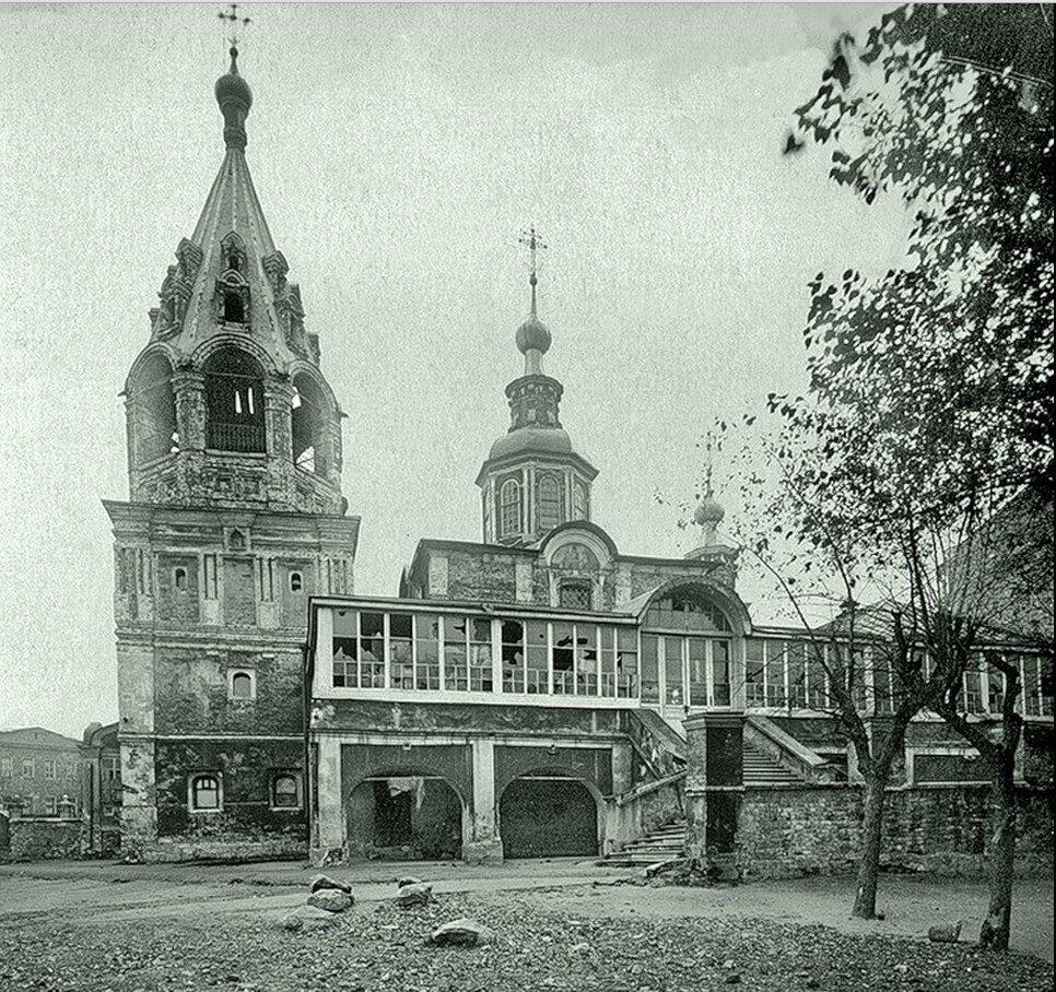 1930-е. Церковь Никиты за Яузой на Швивой горке