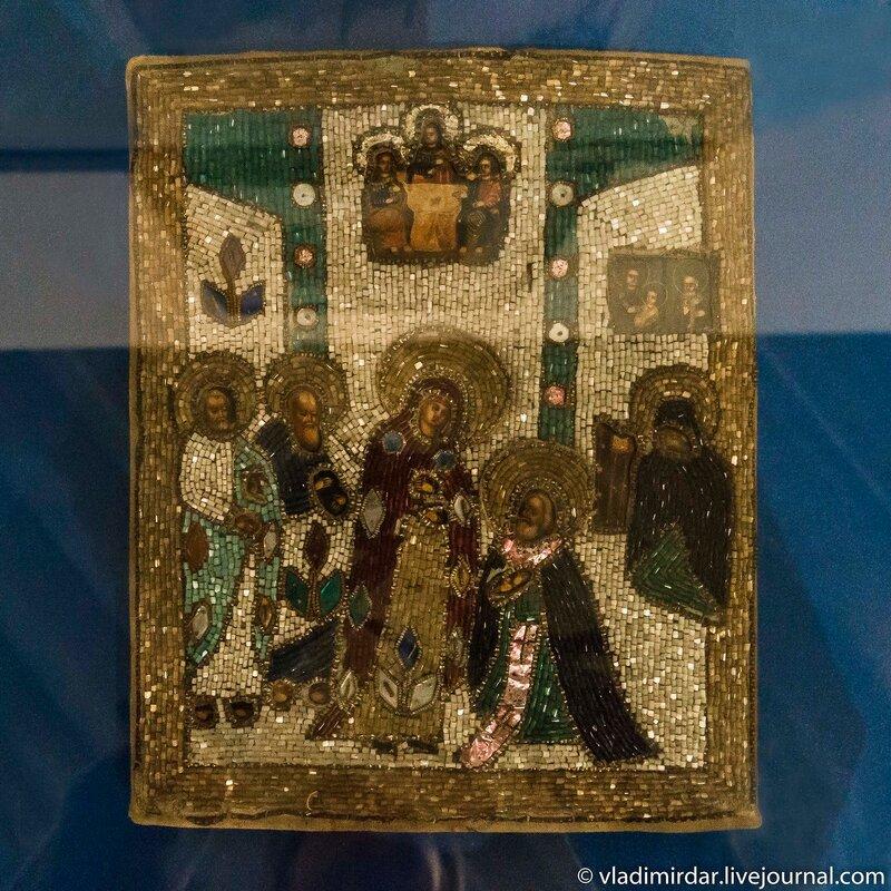 Икона «Явление Богоматери преподобному Сергию Радонежскому».
