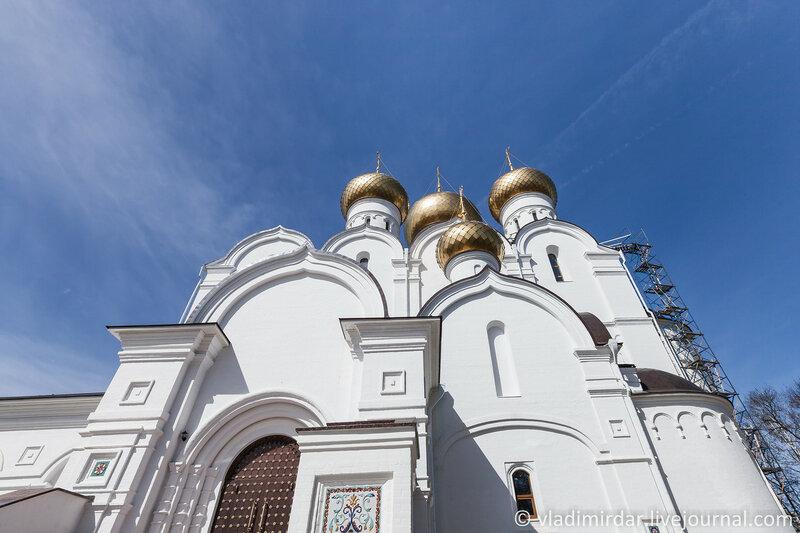 Успенский Кафедральный Собор. Ярославль. Золотое Кольцо.
