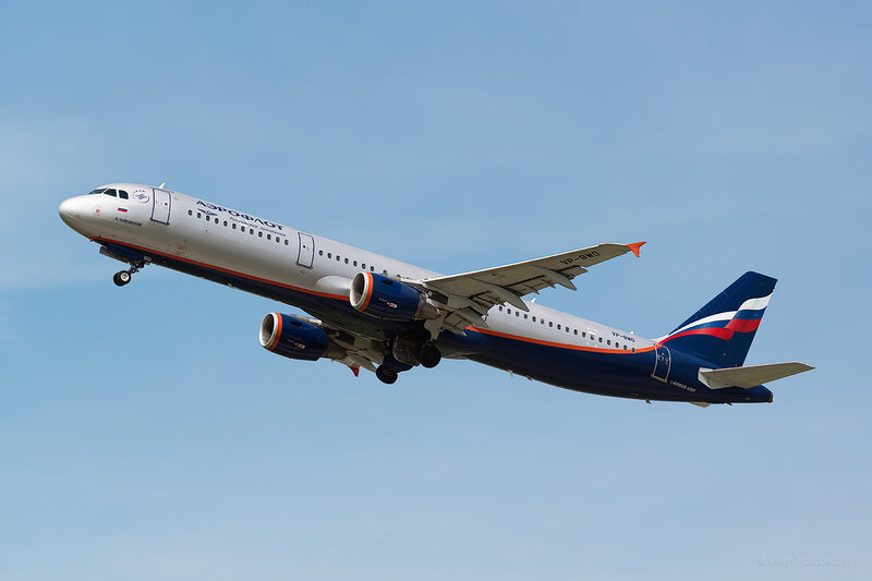 Airbus A321-211 (VP-BWO) Аэрофлот D805926
