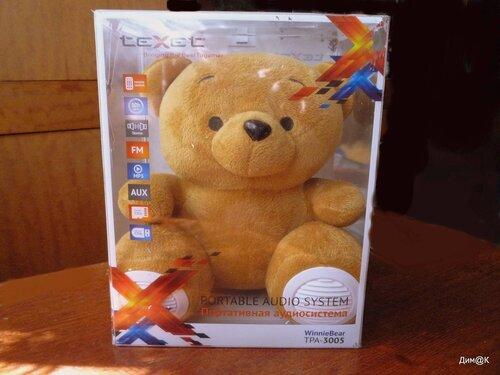 Texet TPA-3005 Winnie Bear (в упаковке)