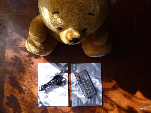 Texet TPA-3005 Winnie Bear (комплектация)