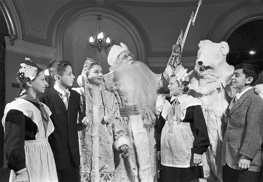Новый год в СССР. 1950-е