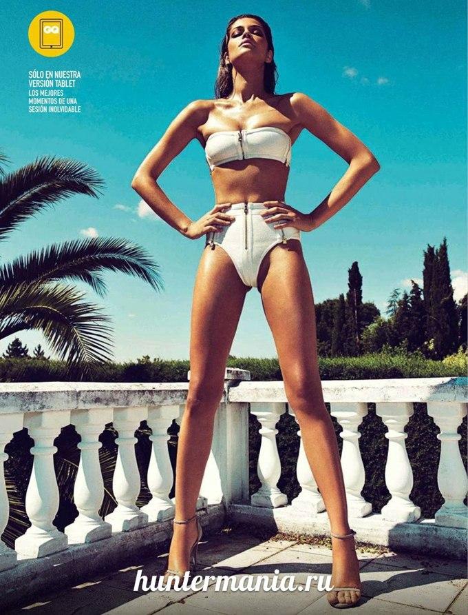 Модель Ана Беатрис Баррос в GQ Spain