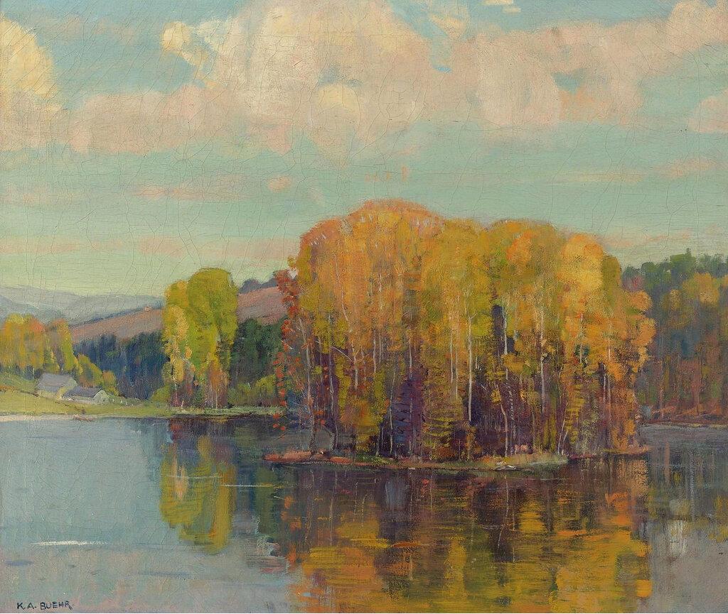Karl Albert Buehr - Autumn in Vermont, 1943-49.jpeg