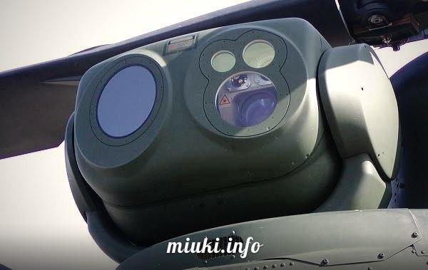Вертолеты Японии многоцелевой Kawasaki OH-1 Ninja Система наблюдения вертолета