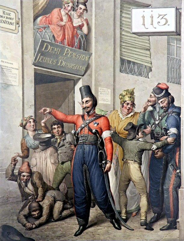 +5. Русские казаки на улице Rue des bons enfants1.jpg