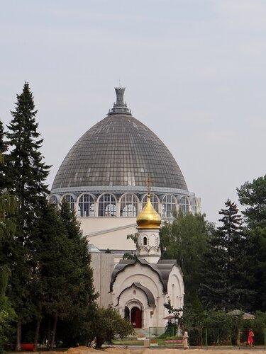 Часовня Святителя Василия Великого. (ВДНХ, Мичуринский сад)
