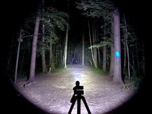 Фонарь - NiteCore SRT6 Night Officer XM-L2 T6 светит так: Турбо режим, iso 200