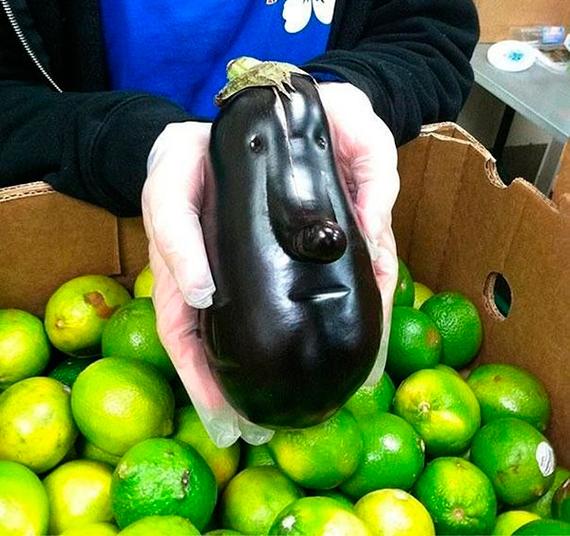 Фото «Овощи, которые не похожи на себя»
