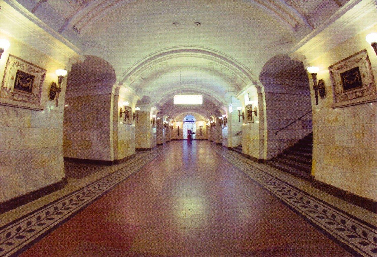 Московское метро в открытках, мастер класс