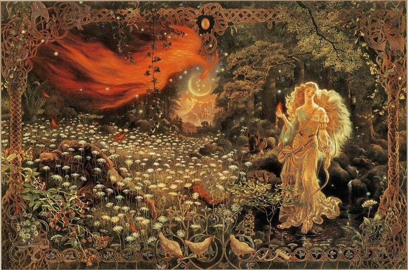 Художница Kinuko Craft. Мир сказок полон тайн и приключений