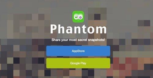 Phantom дает возможность делиться исчезающими фото и видео в социальных сетях