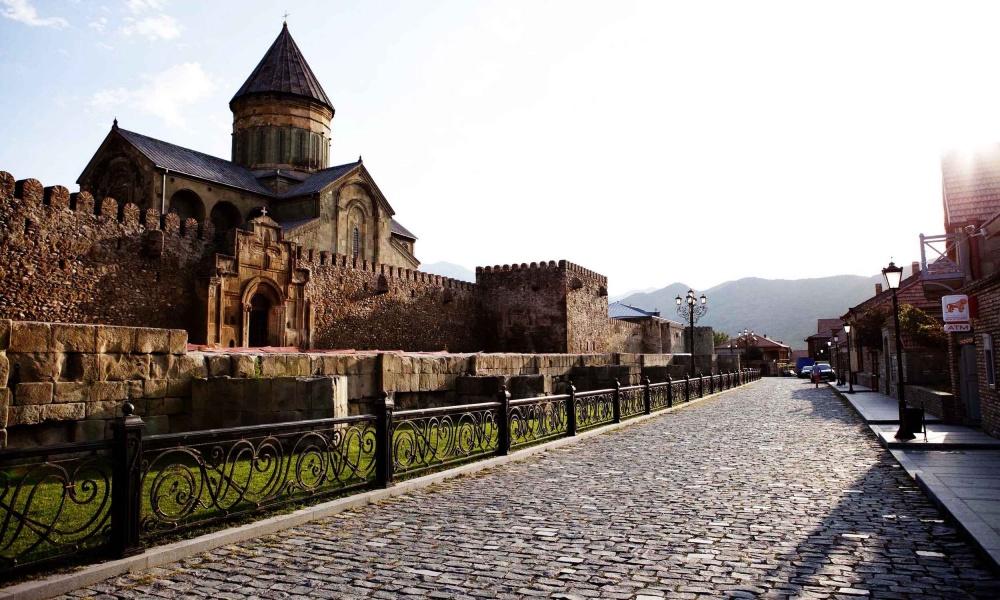 Мцхета— древняя столица Грузии.