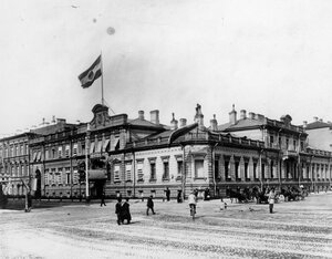 Вид здания посольства (до перестройки).