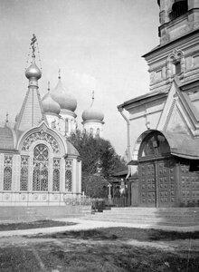 Церковь во имя праведного Иова на кладбище.