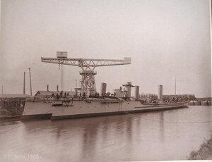 Общий вид минных крейсеровМосквитяниниДоброволец.
