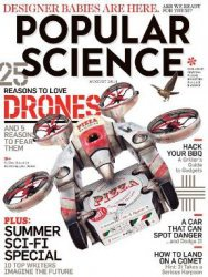 Журнал Popular Science USA - August 2014
